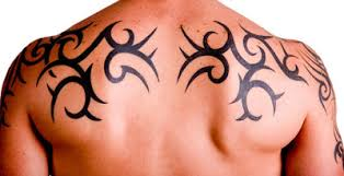 upper back tattoos for men tribal archives chopper tattoo
