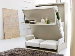 Sofa With Bed Pull Out Bedroom Endearing Storage Wall With Pull Down Double Bed 2