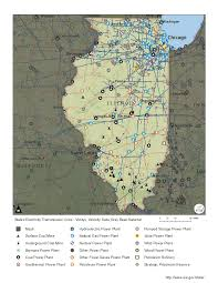Map Of Nuclear Power Plants In The Usa by Illinois Profile