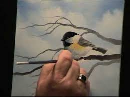 watercolor tutorial chickadee wilson bickford chickadee painting techniques intermediate