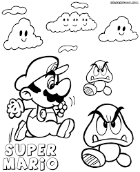 super mario coloring pages coloring pages download print