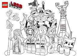 The Lego Movie Coloring Pages By Tormentalous Via Flickr Lego Coloring Pages For Boys Free