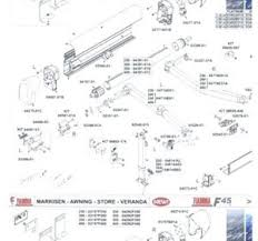 Fiamma Awning Spares Dometic 8500 Patio Awning Parts Dometic Awning Parts Catalog