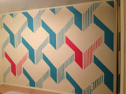 Wall Design For Hall by Home Design I Painted A Design On My Wall And It Came Out Awesome