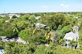 Hemingway House Key West Aerial View Of Ernest Hemingway U0027s House In Key West Stock Photo