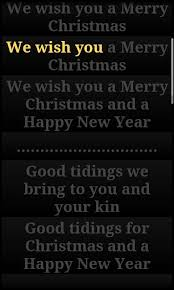christmas songs lyrics android apps on google play