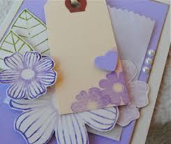 Handmade Farewell Invitation Cards Embellished Stephinka