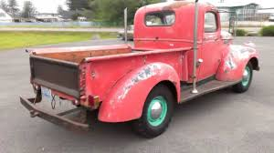 Vintage Ford Truck Seats - 1946 chevrolet pickup youtube