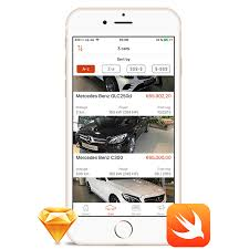 car dealer ios app template