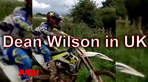 Dean Wilson In Uk Awesome Motocross Youtube