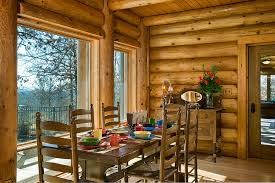 Log Dining Room Table Beautiful Log Home Dining Rooms Photos Rugoingmyway Us