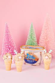 ice cream emoji movie diy reindeer snowman ice cream cones studio diy
