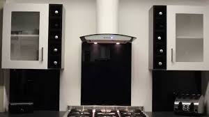 Kitchen Extractor White Curved Glass Kitchen Extractor Luxair Cooker Hoods Youtube