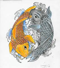 creative ying yang koi fish tattoo design boys u0026 girls picsmine