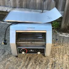 Rotary Toaster Secondhand Catering Equipment Conveyor Toasters