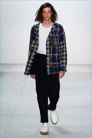 preppy haircuts for boys band of outsiders 2017 spring summer men s runway collection