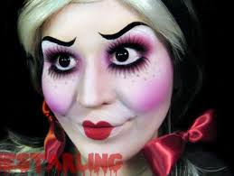 Scary Doll Halloween Costume 30 Doll Makeup Images Halloween Ideas
