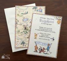 winnie pooh invitations planning a winnie the pooh party bugaboocity