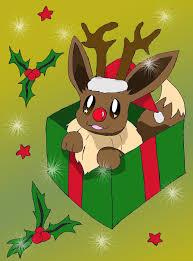 eevee pokemon christmas images pokemon images