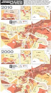 Map New Orleans by Racial Divides Among New Orleans Neighborhoods Expand Nola Com