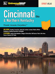 Loveland Zip Code Map by Cincinnati Northern Kentucky Atlas Kappa Map Group