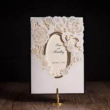 Wedding Invitation Card With Photo Aliexpress Com Buy Wishmade Cw5185 White Royal Wedding