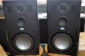 compact home theater subwoofer blue sky sat 8 compact midfield monitor sub 212 subwoofer
