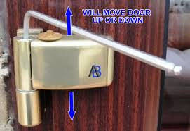 Patio Door Hinges Ask A Builder Adjusting Glazed Doors