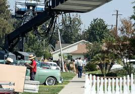 george clooney matt damon film in fullerton through monday for