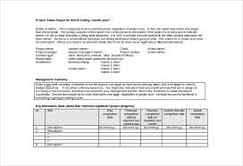 Project Reporting Template Excel Monthly Management Report Template 10 Free Word Excel Documents