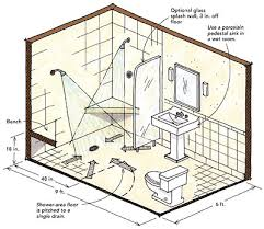 Floor Plans For Bathrooms With Walk In Shower Wonderful Half Bathroom Dimensions Tell The Of This Bath Please