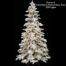 7 5 flocked tree heavy flocked snow tree agf3065