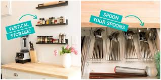 how to use small kitchen space storage tricks for a tiny kitchen small kitchen organization