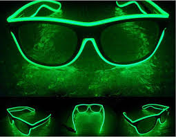 party sunglasses with lights el wire light led glasses bright light party glasses club bar