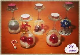 easter and christmas decorations candle holder vine glasses diy