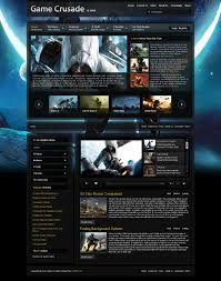 8 best images of joomla gaming themes online game website