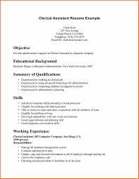 resume format for office job computer clerk cover letter index clerk cover letter records tooth clerk sample resume clerical support cover letter