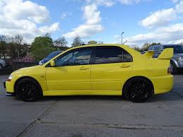 mitsubishi yellow used 2016 mitsubishi lancer 2 0 evo ix mr jdm model for sale in