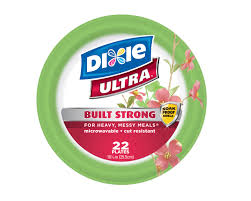 paper bowls dixie ultra disposable plates 10 1 16 inch 22 ct