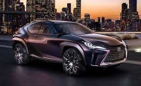 purple lexus official photos and info lexus ux concept u2013 news u2013 car and driver