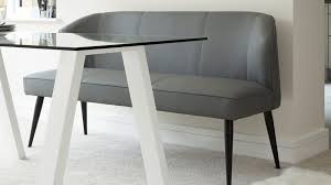 Modern Dining Bench With Back Best 3 Seater Dining Bench With Backrest Modern Dining Furniture