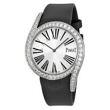 piaget watches prices piaget limelight gala silver black satin