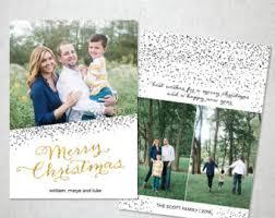 christmas card template photoshop photographers photo