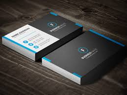 dark mosaic professional business card template free download