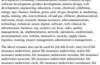junior underwriter resume underwriter resume sample resume