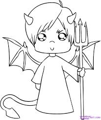 6 how to draw a cartoon devil boy