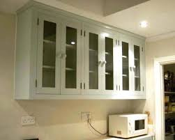 Replacement Cabinet Doors Glass These Peninsula Cabinets Separate The Cooking Space From Regarding