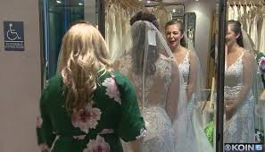 bride to be gets free dress after hers was stolen