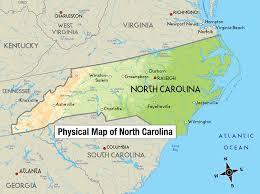 Map Of North Carolina Coast Latitude Longitude And Direction Powerknowledge Earth U0026 Space