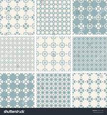 classical ornaments pattern set ii soft stock vector 183311588